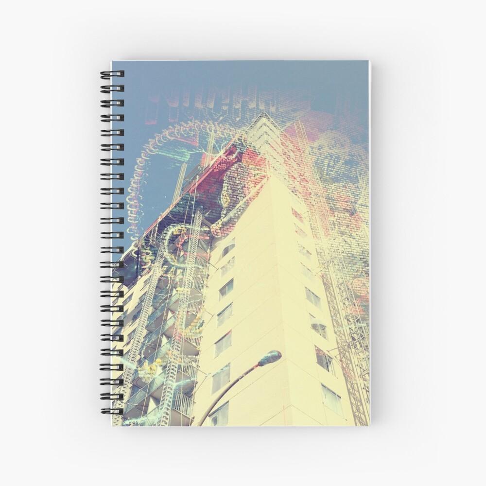 rascacielos Cuaderno de espiral