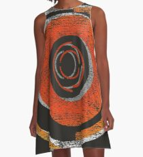 Broken In Circles and Off-centered A-Line Dress