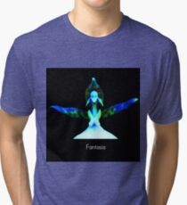 Fantasia - Orchid Alien Discovery Tri-blend T-Shirt