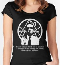 The Outsider (H.P. Lovecraft) Women's Fitted Scoop T-Shirt