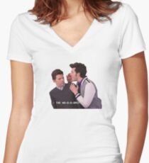 Jean Ralphio The Worst Women's Fitted V-Neck T-Shirt