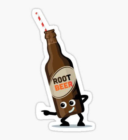 Character Fusion - Just Root Beer Sticker