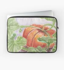 Autumn Pumpkin Watercolor Laptop Sleeve
