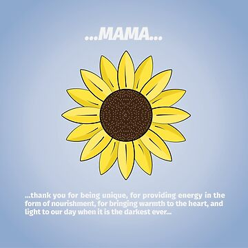 Mama Sunflower by reyesgraphix
