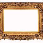 Baroque Golden Frame by Bruno Beach