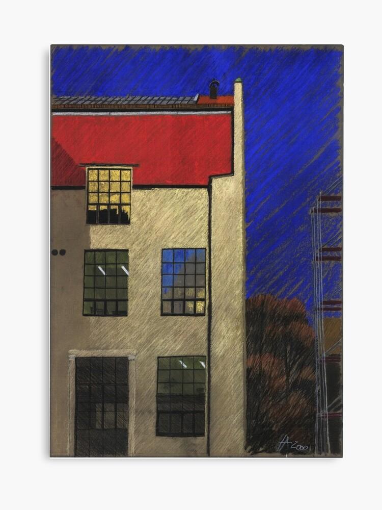 Bauhaus Uni Weimar In Germany Canvas Print