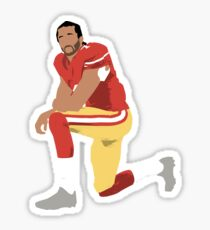 I'll take a knee with Kap Sticker