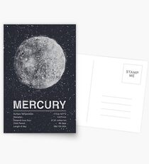 Mercury Postcards