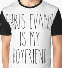 Chris Evans is my boyfriend Graphic T-Shirt