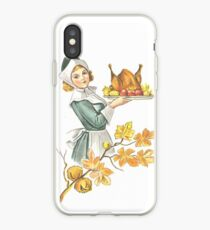 Victorian Thanksgiving 6 iPhone-Hülle & Cover