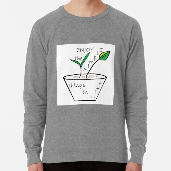 Enjoy the Simple Things Lightweight Sweatshirt