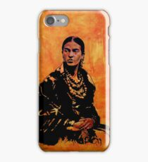 FRIDA KAHLO - the mistress of ARTs - original painting iPhone Case/Skin