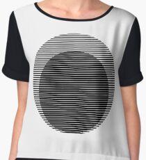 Optical circles Chiffon Top