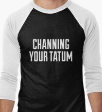 CHANNING YOUR TATUM Men's Baseball ¾ T-Shirt
