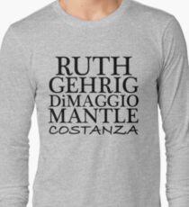 COSTANZA YANKEES Long Sleeve T-Shirt