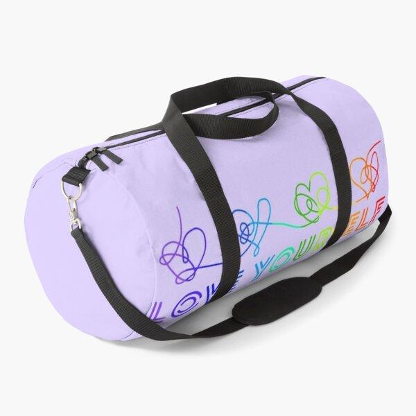 Love yourself tear rainbow Duffle Bag
