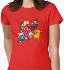 NINJIA CREW Womens Fitted T-Shirt