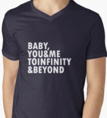 To Infinity & Beyond Men's V-Neck T-Shirt