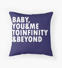 To Infinity & Beyond Throw Pillow