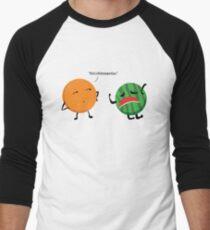 MELONdramatic Men's Baseball ¾ T-Shirt
