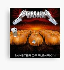 MASTER OF PUMPKIN (spice) Canvas Print