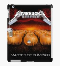 MASTER OF PUMPKIN (spice) iPad Case/Skin