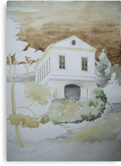 Das Römische Haus in Weimar by HannaAschenbach