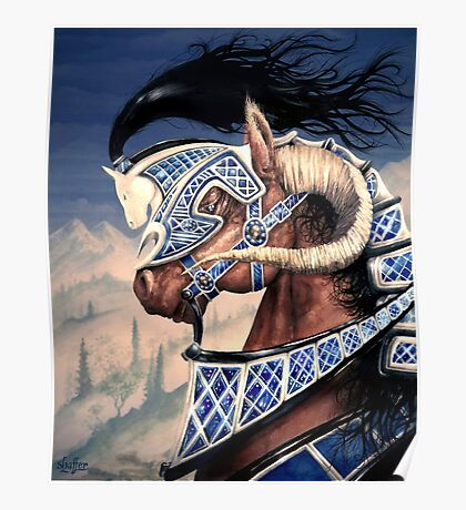Yuellas the Bulvaen Horse Poster