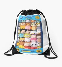 TSUM TSUM GAME !!! Drawstring Bag