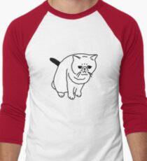 Mr Inspector Cat Men's Baseball ¾ T-Shirt