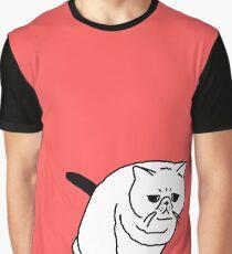 Mr Inspector Cat Graphic T-Shirt
