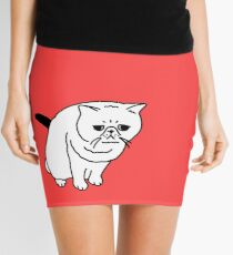 Mr Inspector Cat Mini Skirt