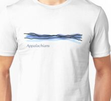 Appalachian Mountain Range Unisex T-Shirt