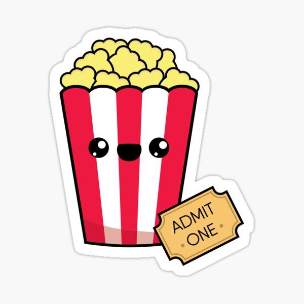Movie Night Sticker
