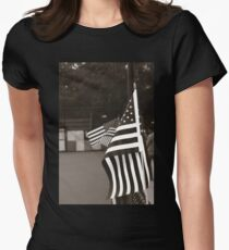Ojai Memorial Day  Women's Fitted T-Shirt