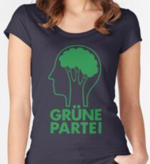GRUNE PARTEI Fitted Scoop T-Shirt