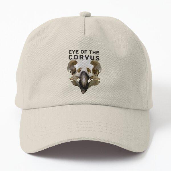 Eye of the Corvus (black lettering) Dad Hat