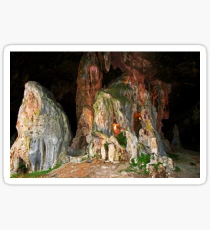 Arbecrombie Höhle Sticker