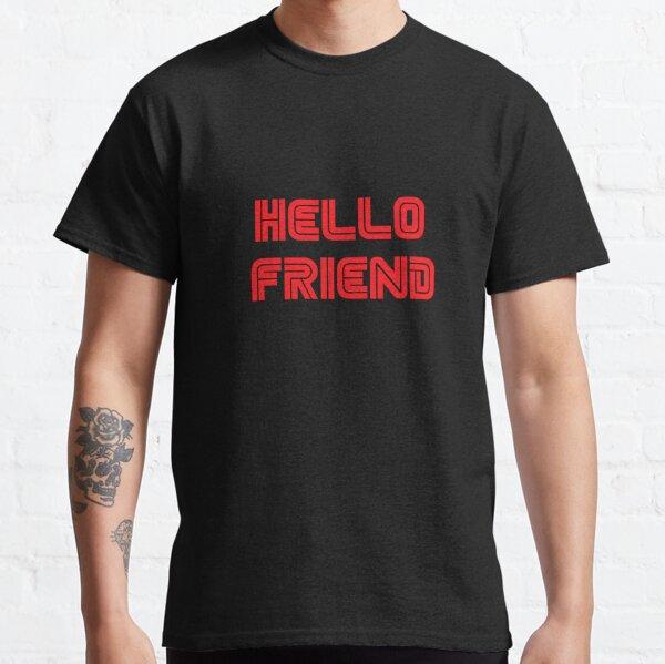 Mr. Robot - Hello friend Camiseta clásica