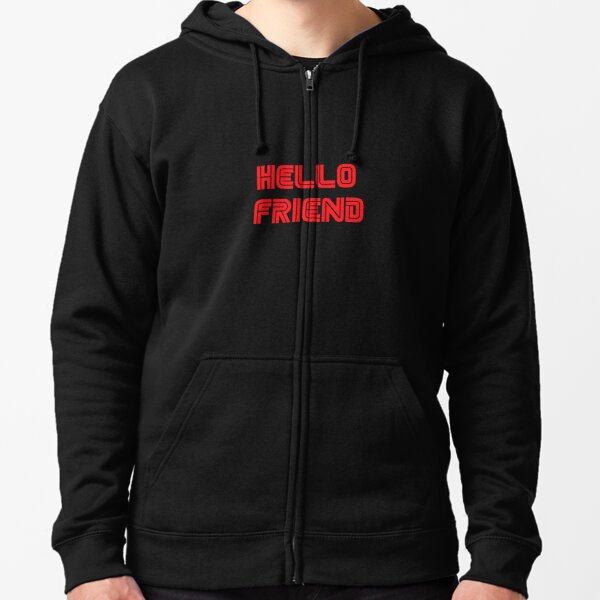 Mr. Robot - Hello friend Zipped Hoodie