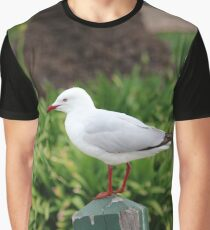 The Lone Seagull Graphic T-Shirt