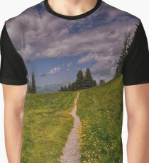 Swiss Alps Graphic T-Shirt