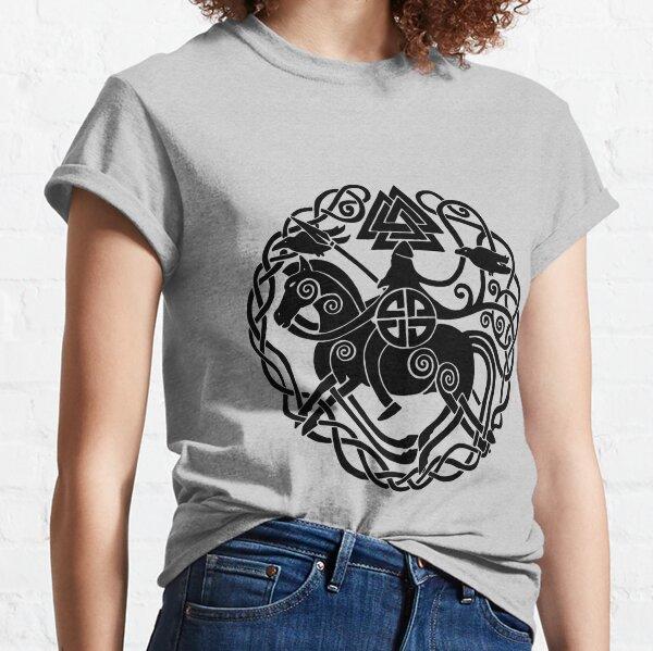 Sleipnir and Odin Classic T-Shirt