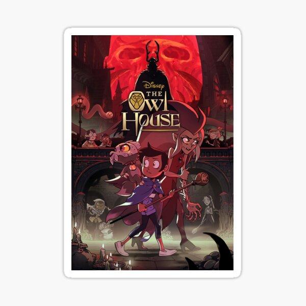 The Owl House Season 2 Poster Sticker