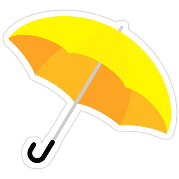 Yellow Umbrella Clip Art | www.pixshark.com - Images ...