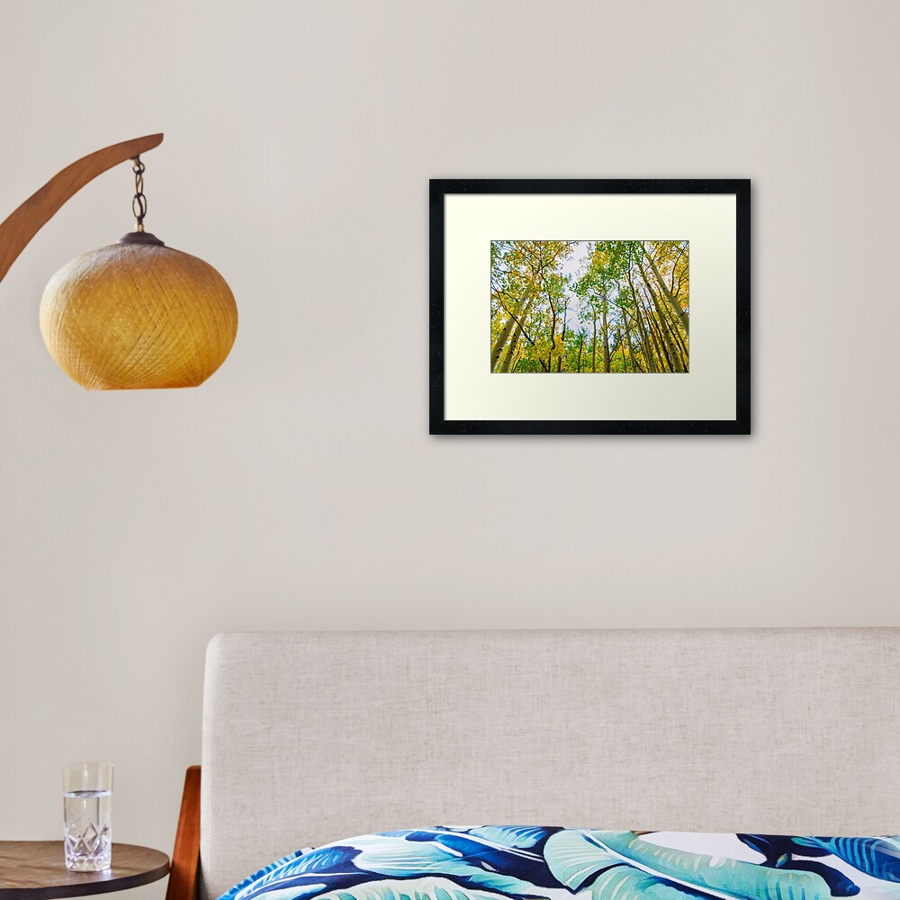 Mountain Breeze Framed Art Print