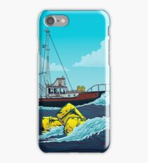 Jaws: The Orca Illustration iPhone Case/Skin