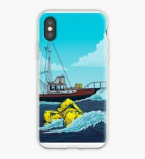 Jaws: The Orca Illustration iPhone Case