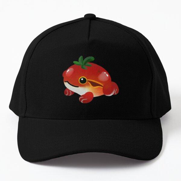 Tomato frog Baseball Cap