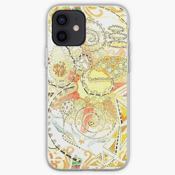 Untethered Paisley iPhone Soft Case